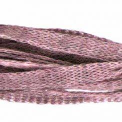 Розов кашмирен шнур ретина Menoni 5 мм (50см)