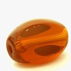 Чешки кристал - Мънисто Опушен топаз 10x13мм (6бр)