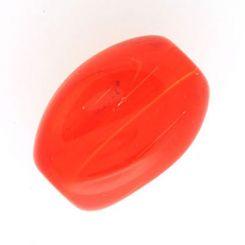 Чешки кристал - Мънисто Сиам 10x13мм (6бр)