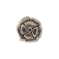 Декоративно метално мънисто цвете Бали 10 мм (4бр)