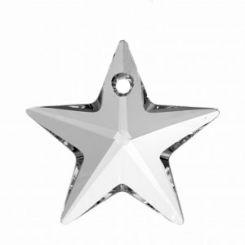 Сваровски висулка звезда кристал 20мм (1бр)