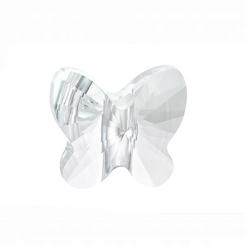Сваровски мъниста - пеперуда кристал 14мм (1бр)