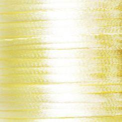Сатенен шнур - крем, 2mm (1м)