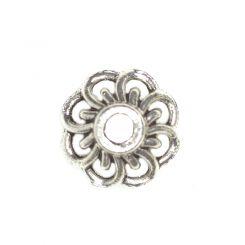 Декоративно капаче за мъниста от метал Бали 10х4 мм (10бр)
